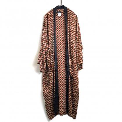 古着 通販 ヴィンテージ シルク ガウン【1980's】【PITTI UOMO】Vintage Silk Satin Robe