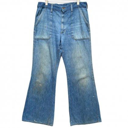 古着 通販 【Lee 418-5049 Made In USA】ベルボトム フレアデニム【1970's】Vintage Denim Pants