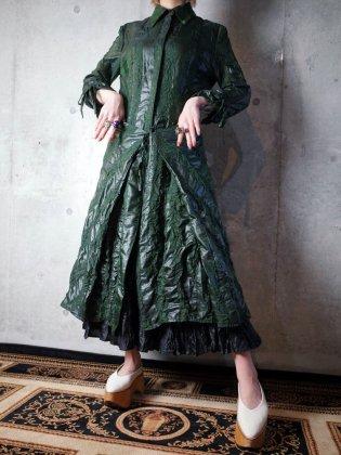 古着 通販 1980-90年代フランス製シアーガウン/ワンピースFrance Made Dress/Gown Special Material & Details c.1980-90s
