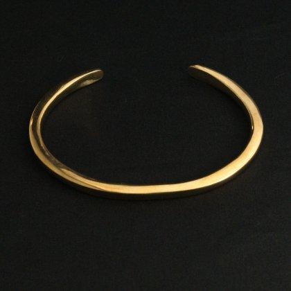 古着 通販 ナバホ シルバー バングル【ERICKA NICOLAS BEGAY】【Gold Tone Brass】スクエア