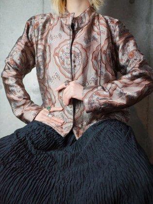 古着 通販 ヴィンテージ ジャガード織 アラベスク柄 ジャケット Jacquard Arabesque Jacket Reversible