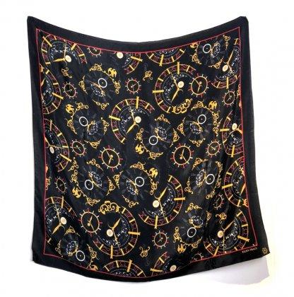 古着 通販 ヴィンテージ シルクスカーフ【1980s-】【ELLEN TRACY】Vintage ALL Silk Scarf