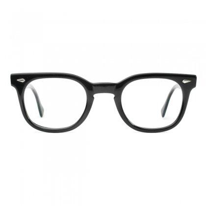 古着 通販 アメリカンオプティカル ヴィンテージ メガネ【American Optical - STADIUM】【Early 1960's-】BK-Ebony 46-24