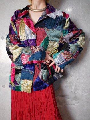 古着 通販 ヴィンテージ クレイジーキルト ジャケット Crazy Quilt Jacket