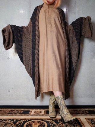 古着 通販 ヴィンテージ ウェーブ柄 コクーン ニットガウン Wavey Cocoon Knit Gown