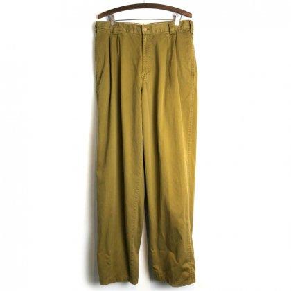 古着 通販 ヴィンテージ 2タック トラウザーズ【1990's】【JOE】Vintage Box Pleats Trouser