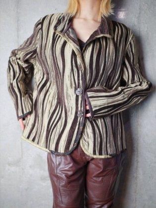 古着 通販 ヴィンテージ 木目模様 織柄 ジャケット リバーシブル Grain Woven Jacket Reversible