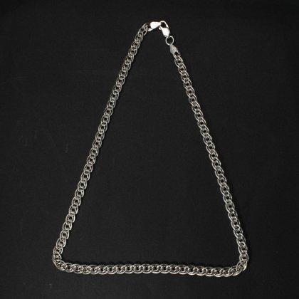 古着 通販 ヴィンテージ シルバー チェーン ネックレス【925 STERLING Silver Russian】 Double Link Chain