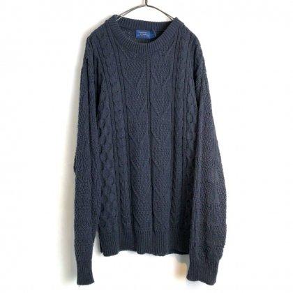 古着 通販 ヴィンテージ クルーネック コットンニット【1990's】【MERVYNS】Vintage Crewneck Cotton Sweater