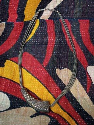 古着 通販 ヴィンテージ モダンシルバー ロングネックレス Modern Silver Long Necklace