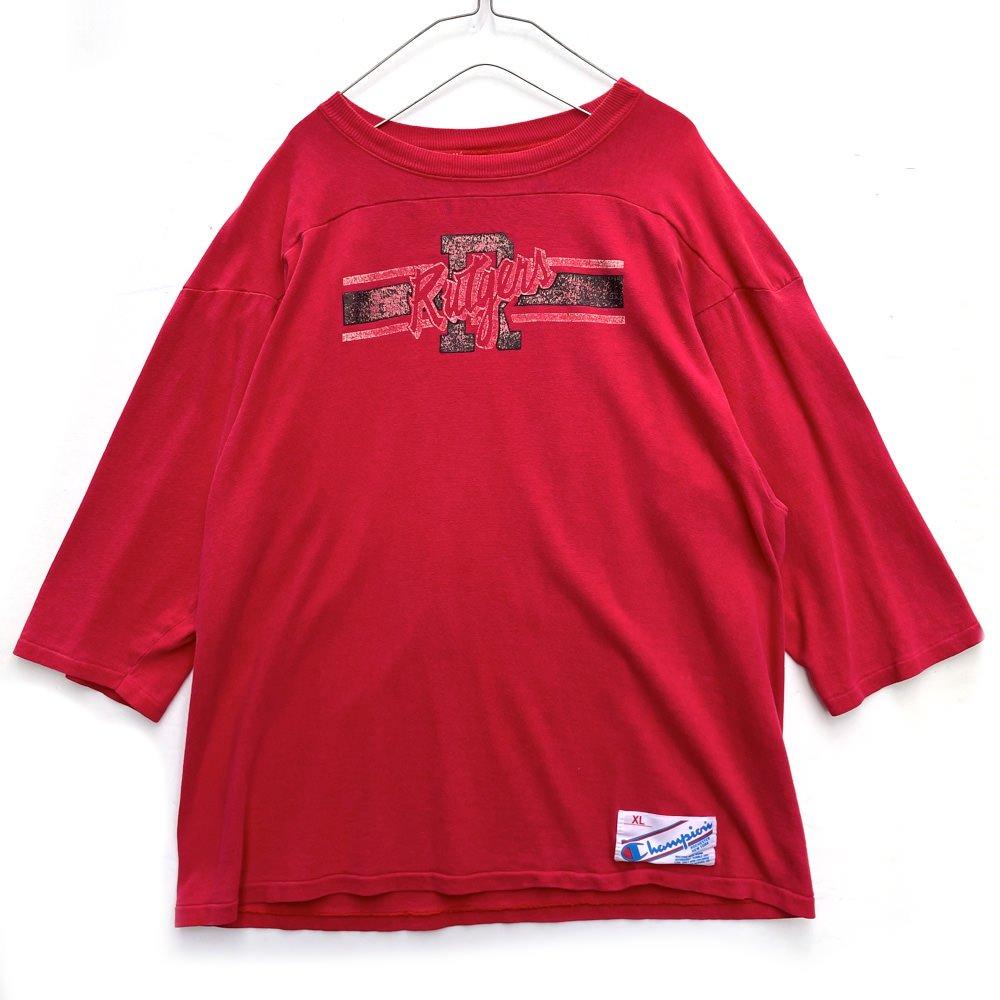 古着 通販 チャンピオン トリコタグ【Champion】ヴィンテージ フットボールTシャツ【1980s-】Vintage T-Shirt