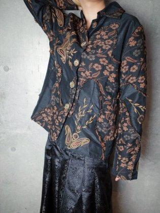 古着 通販 ヴィンテージ 刺繍&クレイジーパッチワーク ジャケット Embroidery & Crazy Switch Jacket