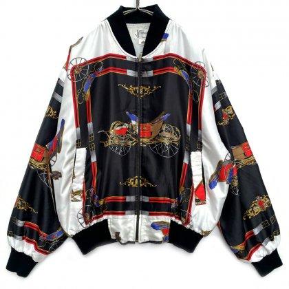 古着 通販 ヴィンテージ アートパターン ブルゾン ジャケット【1980's】Vintage Art Jacket