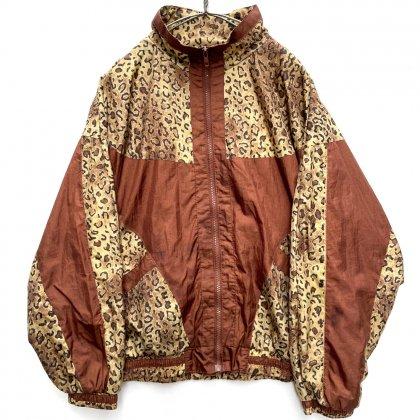 古着 通販 ヴィンテージ レオパードパターン ナイロン ライトジャケット【1980's】Vintage Nylon Light Jacket