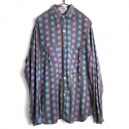 古着 通販 ヴィンテージ チェックシャツ【1980's-】【PCH】Vintage Cotton Shirt