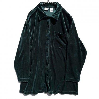 古着 通販 ヴィンテージ ビッグシルエット ベロアシャツ【1990's】【BENTLEY】Vintage Verour Shirt