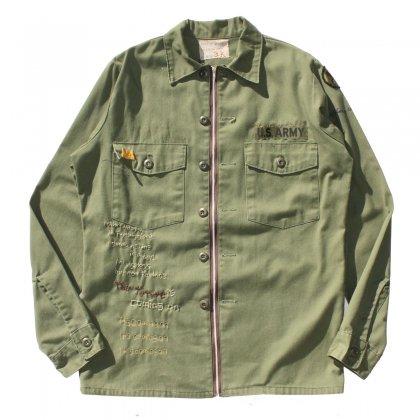 古着 通販 【ak remake products】Poetry Shirts (US Military)