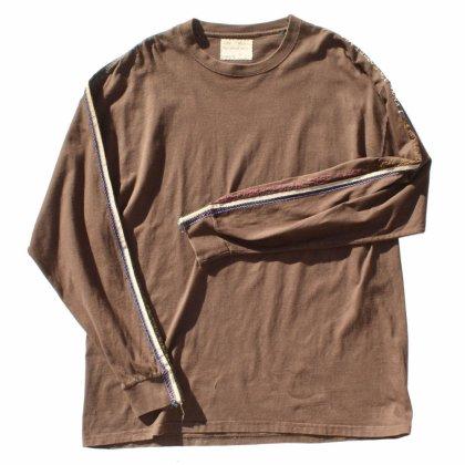 古着 通販 【ak remake products】Side Line TEE (BR)