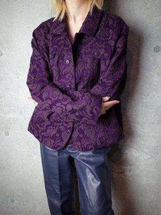 古着 通販 ヴィンテージ パープル ゴブラン織り ジャケット Deep Purple Arabesque Gobelin Jacket