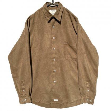 古着 通販 ヴィンテージ フェイクスエードシャツ【1990s-】Vintage Fake Suede Shirts