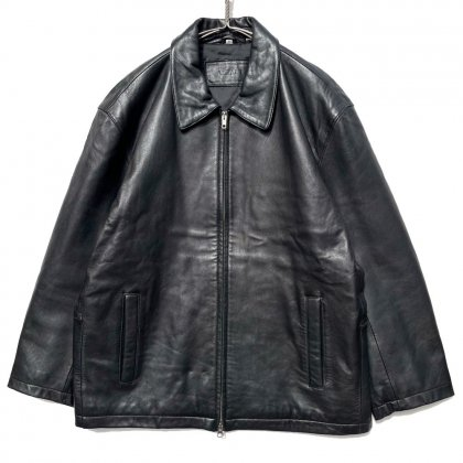 古着 通販 ヴィンテージ ドロップショルダー レザージャケット【1990's】【ALFANI】Vintage Drop Shoulder Leather Jacket