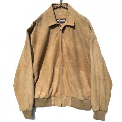 古着 通販 ヴィンテージ ドロップショルダー スエード ジャケット【1980's】【NORTHWEAR】Vintage Drop Shoulder Suede Jacket