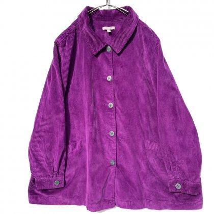 古着 通販 ヴィンテージ ビッグシルエット Aライン コーデュロイ シャツジャケット【1990's】Vintage A-Line Shirt Jacket