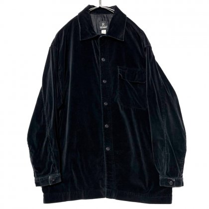 古着 通販 ヴィンテージ ベロアシャツ【1990's】【REUNION】Vintage Velour Shirt