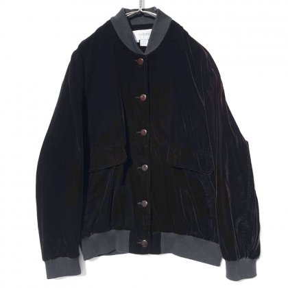 古着 通販 ヴィンテージ ベルベット ジャケット MA-1スタイル【1990's】【Cedars】Vintage Velvet Jacket