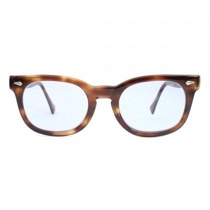 古着 通販 アメリカンオプティカル ヴィンテージ メガネ【American Optical - STADIUM】【Early 1960's-】Amber 46-20
