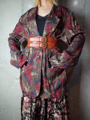 古着 通販 ヴィンテージ ペイズリー ダブルパターン ジャケット Paisley Double Pattern Jacket