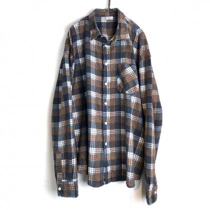 古着 通販 ヴィンテージ コットン フランネルシャツ【1980's】Euro Vintage Cotton Flannel Shirt