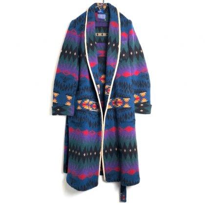 古着 通販 ペンドルトン【PENDLETON】ヴィンテージ オルテガパターン ウールガウン【1980's-】Vintage Wool Robe