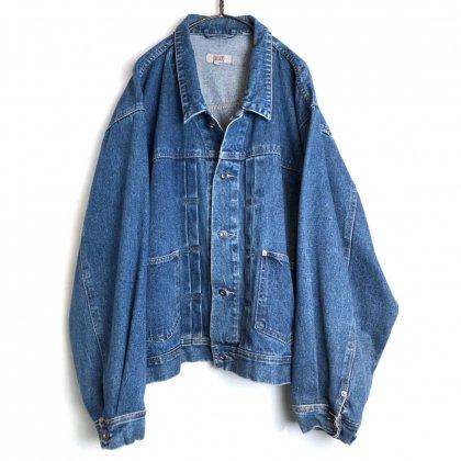 古着 通販 ヴィンテージ ビッグシルエット デニムジャケット【1990's-】【CODE ZERO】Vintage Big Silhouette Denim Jacket