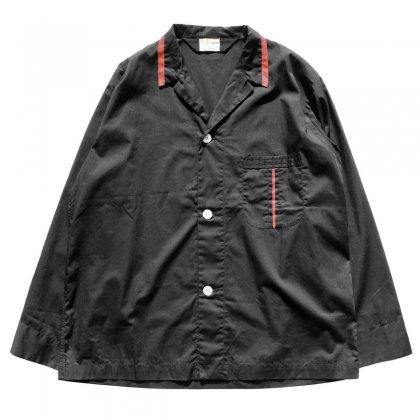 古着 通販 ヴィンテージ L/S オープンカラー パジャマ シャツ【Joe Fischman】【1960's-】BK
