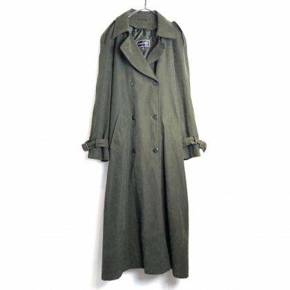 古着 通販 ヴィンテージ ピーチスキン トレンチコート【1990's-】【GALLERY】Vintage Peach Skin Trench Coat