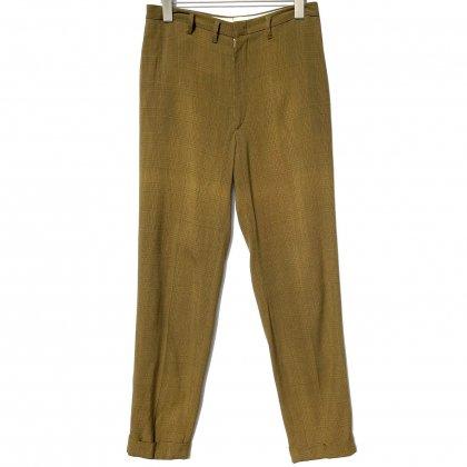 古着 通販 ヴィンテージ グレンチェックトラウザーズ ペグパンツ【1960's】Vintage Peg Pants