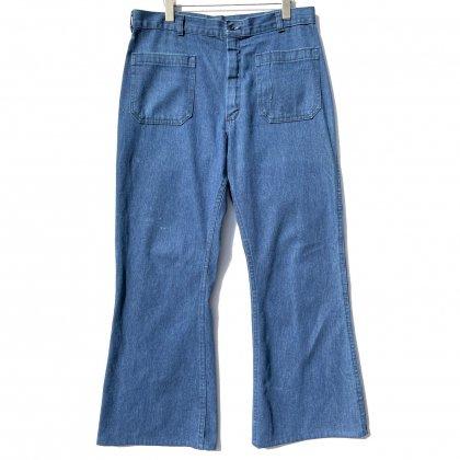 古着 通販 【US NAVY】セーラーデニムパンツ【Navdungaree】【1980's】Vintage Sailor Denim Pants