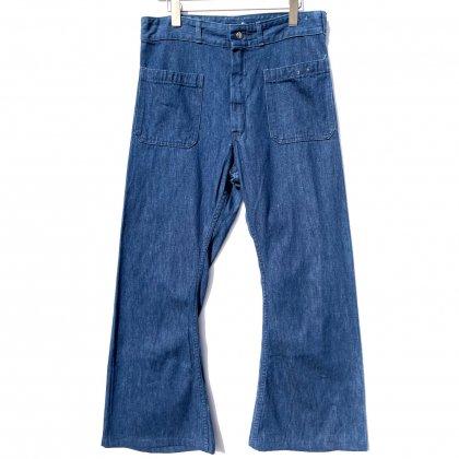 古着 通販 【seafarer】巻きセーラーデニムパンツ【1960's】Vintage Sailor Denim Pants