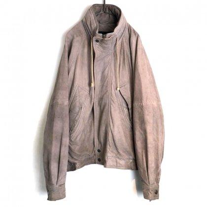 古着 通販 ヴィンテージ ヌバックレザー ジャケット【1980's】【silverado】Vintage Nubuck Leather jacket