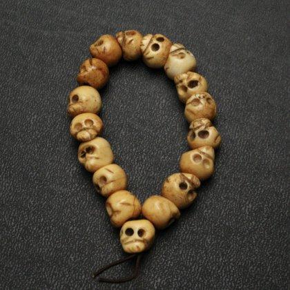 古着 通販 ヴィンテージ カラベラ ブレスレット【Mexican Skull - Natural Bones】