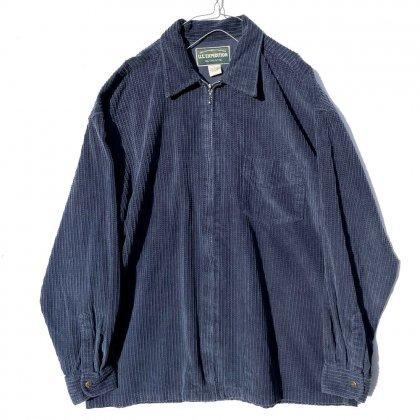 古着 通販 ヴィンテージ ジップアップ コーデュロイシャツ【U.S.EXPEDITION】Vintage Corduroy Shirts