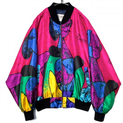 古着 通販 ヴィンテージ ピカソジャケット【1990's-】【TRES-BEAU】Vintage Picaso Jacket