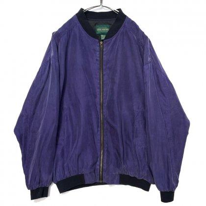 古着 通販 ヴィンテージ ビッグシルエット シルクブルゾン ジャケット【1980's】【NEIL MARTIN】Vintage Silk Jacket