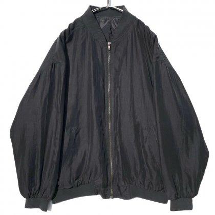 古着 通販 ヴィンテージ ビッグシルエット シルクブルゾン ジャケット【1980's】Vintage Silk Jacket