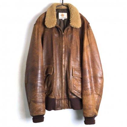 古着 通販 ゴールデンベア【Golden Bear】ヴィンテージ G-1タイプ レザージャケット【1970's-】【PORTRAIT】Vintage Type : G-1 Leather jacket