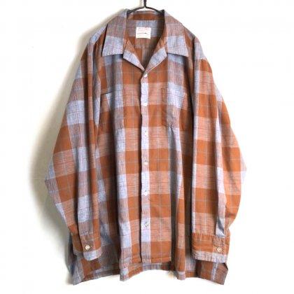 古着 通販 ヴィンテージ オープンカラーシャツ【1960's-】【Sovereign】Vintage Open Collar Shirt