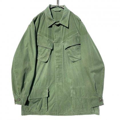 古着 通販 ジャングルファティーグ ノンリップ ミリタリージャケット 3th前期【1960's】【U.S.ARMY】Vintage Jungle Fatigue Jacket