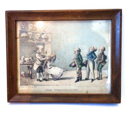 古着 通販 アンティーク ピクチャー【THE PHRENOLOGIST】【1825】ANTIQUE PICTURE