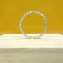 ...TABOO<br /><br />Square Brain-Ring<br />Silver Coating